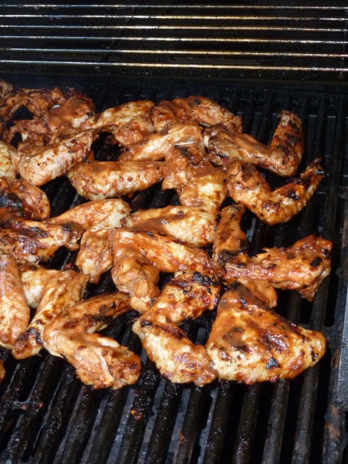 Wings on the BBQ